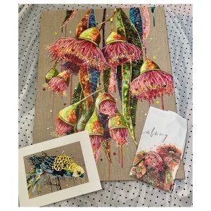 Gift Pack - Stretched Canvas Print - Gumnut Burst